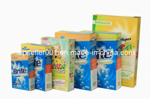 Box Packing and High Efficient Detergent Powder pictures & photos