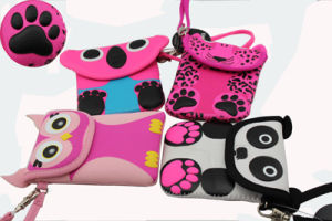 Kids′ Wallets Neoprene Portable Smart Phone Pouch pictures & photos