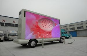 Outdoor Full Color LED Trailer Mobile Screen P8