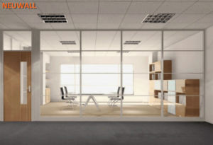 Room Partition Walls/Aluminum Framed/Glass Partitions pictures & photos