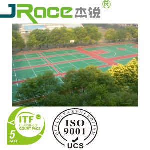 Colorful and Professional Basketball Court Plastic Covering Mat pictures & photos