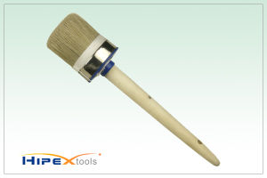 Briste Paint Round Head Brush with Wooden Handle pictures & photos