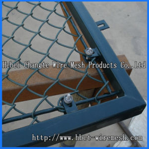Galvanized Coated Chain Link Fence pictures & photos