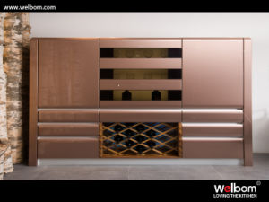 2015 Welbom Newest Open Modern Wine Cabinet pictures & photos