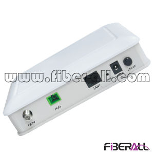 Gpon Ont with 1 Pon Port One 10/100m Port 1 WLAN Port and 1 CATV Port pictures & photos