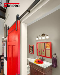 Stainless Steel Studyroom Wood Sliding Barn Door Hardware pictures & photos
