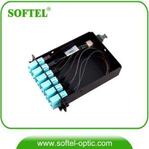 FTTX Solution Provider Fiber Optical 12cores MPO Cassette pictures & photos