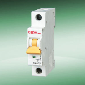 Gym4-63 Mini Circuit Breaker (L7 New type 1P)