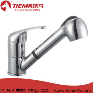 40mm Brass Kitchen Drawable Come out Pull out Faucet pictures & photos