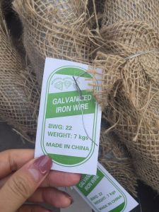 22 Gauge Electro Galvanized Wire for Binding in Construction pictures & photos