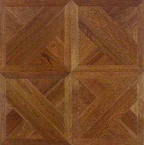 12mm HDF Laminate Wooden Parquet Flooring pictures & photos