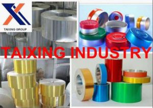 Colored Lacquered Aluminium Strip 8011 for Pharmaceutical Caps