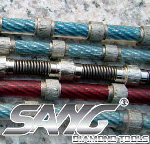 Diamond Wire Saw for Marble, Granite, Sandstone, Concrete pictures & photos