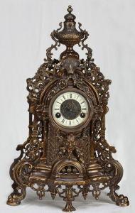 Bronze Mechanical Clock (SP17-3) pictures & photos