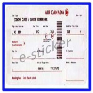 Ticket, Custom Labels (M002)