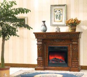 Freestanding Electric Fireplace (623) pictures & photos