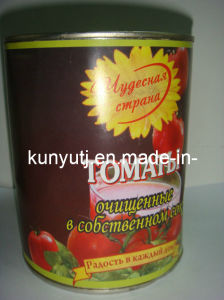 Whole Peeled Tomato with High Quality pictures & photos