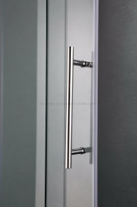 Sliding Bathroom Shower Door with Stainless Steel Wall Frame (UPC-03) pictures & photos