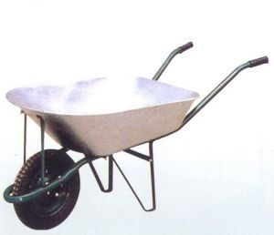 Popular South America Zinc Yard Wheel Barrow Wb7200 pictures & photos