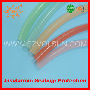 Customized Soft Hardness Colored Silicone Rubber Tubing pictures & photos