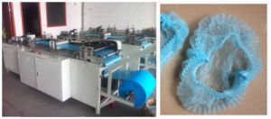 Nonwoven Machine for Mob Clip Bouffant Cap Making Kxt-Nwm30 (attached installation CD) pictures & photos
