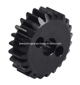 Black Coating Spur Gear pictures & photos