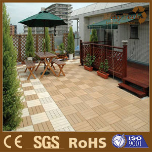 Faced Renovation, Weathering Resistance, Outdoor WPC Wood Tile and Decking pictures & photos