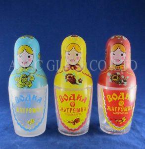 Russian Vodka Glass Bottle pictures & photos