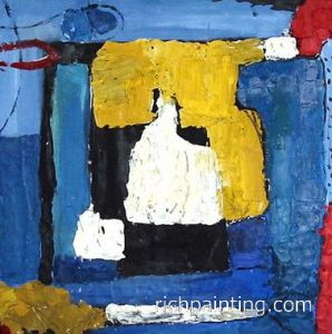 Abstract Home Deco Oil Painting