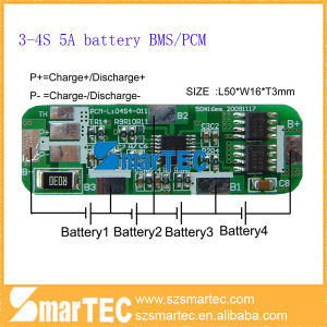 4A 4s 14.8V PCM for Li-ion Lipo Battery Pack
