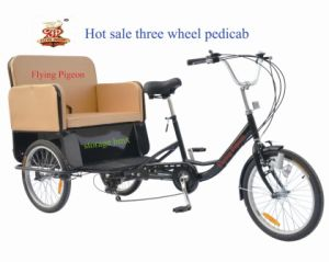"20"" Cargo Tricycle Pedicab Rickshaw (TRI-05) pictures & photos"