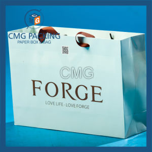 Custom Printed Foil Shopping Gift Paper Bag with Logo Print (DM-GPBB-092) pictures & photos
