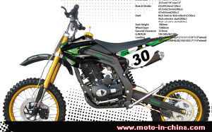 150cc, 200cc, 250cc Dirt Bike (BON-DB150-3)