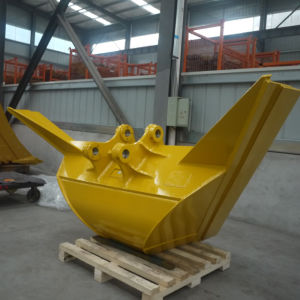 China High Quality Digger V Ditch Bucket Trapezoidal Excavator Bucket pictures & photos