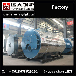 Working Pressure 0.7/1.0MPa 3 Ton Gas Boiler Oil Fired Boiler pictures & photos
