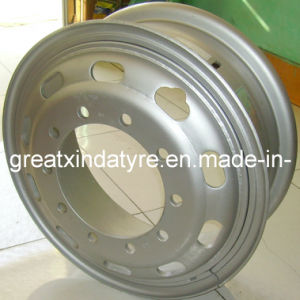 Truck Tube Steel Wheel Rim 7.50-20 for 1000r20 Truck Tyre pictures & photos