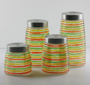 4PCS Hand Drawing Storage Jar (SG1418SJ) pictures & photos