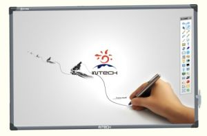 "76"" Electromagnetic Interactive Whiteboard Dual-Pen"