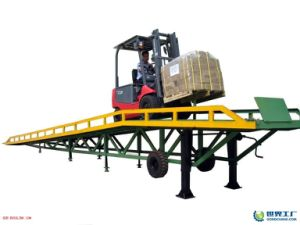 Best Price Hydraulic Forklift Ramp pictures & photos