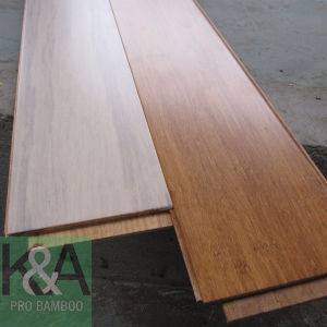 Strand Woven Bamboo Flooring Click System (stained white) (PB-NSW-K002)