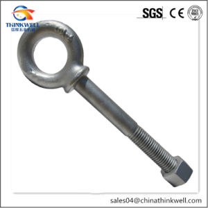 Forged Stainless Steel Regular Eyebolt with Helix Nut pictures & photos