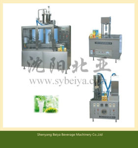 Liquid Carton Box Filling and Sealing Machinery (BW-1000-3) pictures & photos