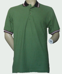 Men′s Soybean Polo Shirt Wholesale China pictures & photos
