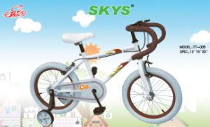 High Quality Kids Racing Bike with White Paiting and White Tyre Tt005