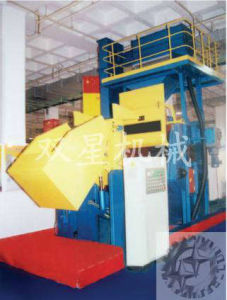 Tumble Belt Shot Blasting Machine for Cleaning Metal Part pictures & photos