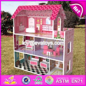 New Design Lovely Girls Toy Sets Wooden Miniature House Kits W06A235 pictures & photos
