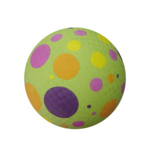 Mini Playground Ball, Rubber Material (B02302) pictures & photos
