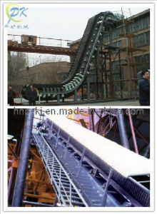 DJ Corrugated Sidewall Apron Belt Conveyor pictures & photos