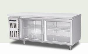 Glass Door Under Counter Display Refrigerator pictures & photos