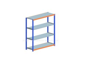 Medium Duty Long Span Racking with Shelving pictures & photos